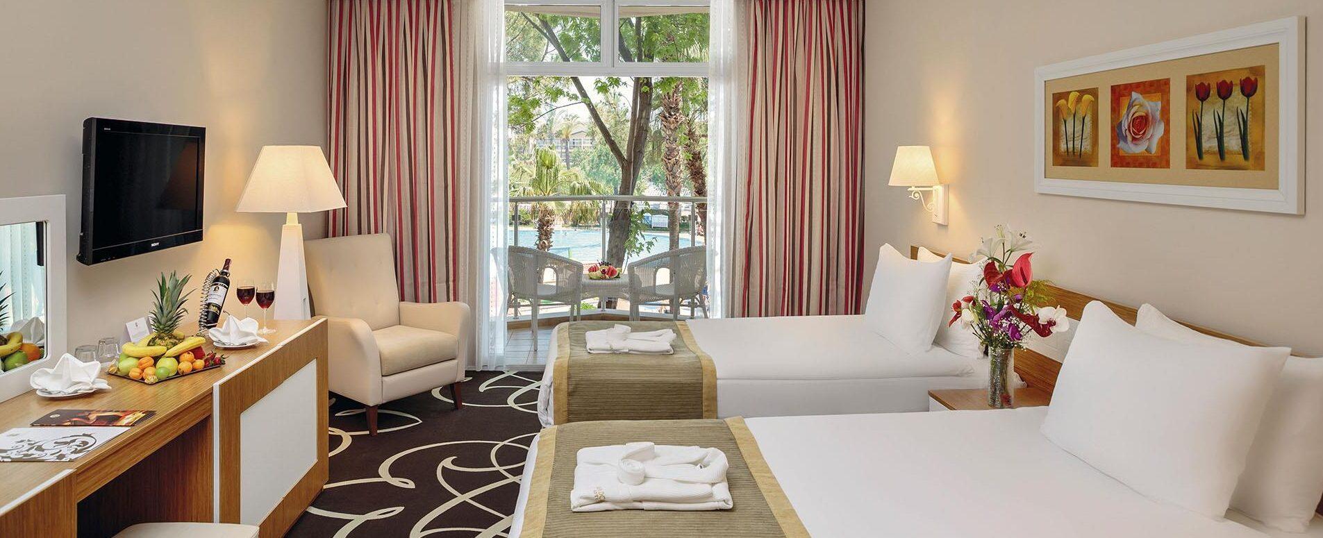 Эксклюзивный отдых в отеле Alva Donna World Palace 5*